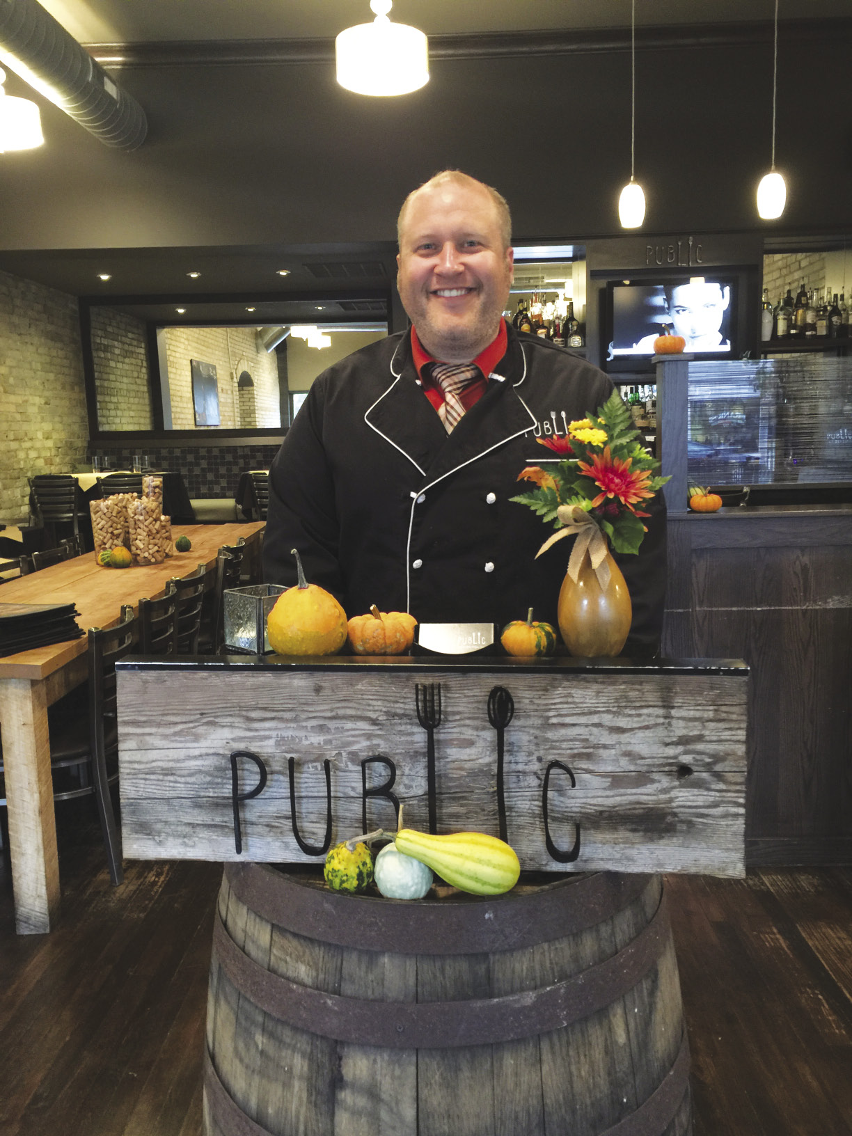 Photo of Luke Grill, chef at Public restaurant