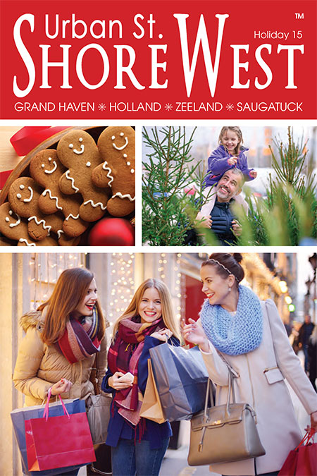 Cover of the Holiday 2015 issue of Urban St.