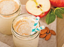 Apple Pie Protien Smoothie