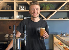 The 205 Coffee Bar manager Luke Petro