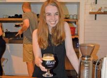 Aldea Coffee barista Elly Bollweg