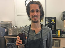 JP's Coffee and Espresso Bar Assistant Manager Erik Rice