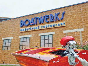 Boatwerks Waterfront Restaurant Exterior