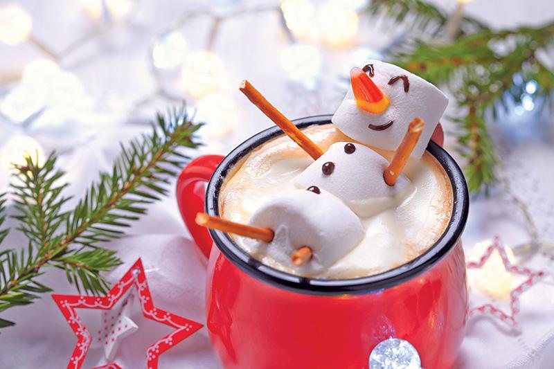 Hot Cocoa Marshmallow Man