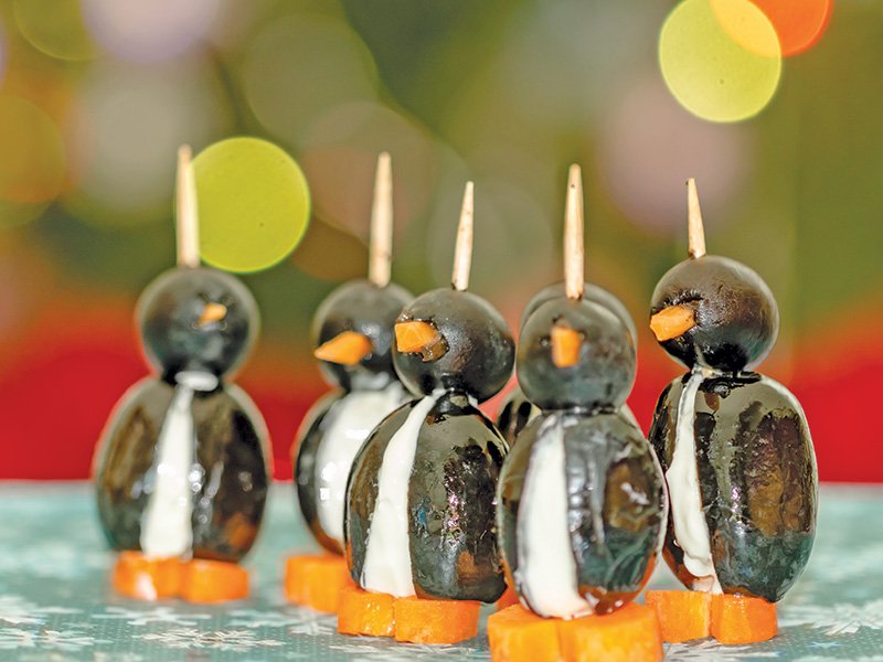 Penguin Appetizers party