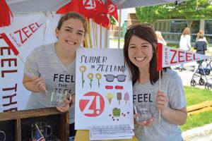 Zeeland volunteers