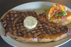 Cowboy Steak, Beechwood Grill