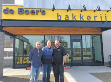From left: Owners Samuel, Mitchiel and Jacob deBoer, deBoer Bakkerij, Holland Photo: Urban St. magazine/Kelsey Smith