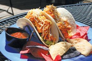 The Butler Deck tacos
