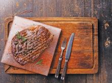 Salt Block Steak