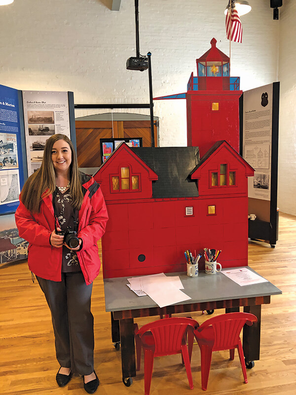 Kelsey Smith at the Pump House Museum