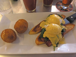 The Bennie — a play on eggs Benedict
