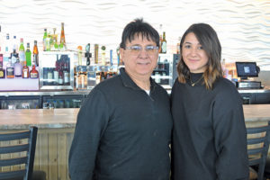 Tony Noto, co-owner and Nicoletta Noto, manager of Noto's at the Bil-Mar