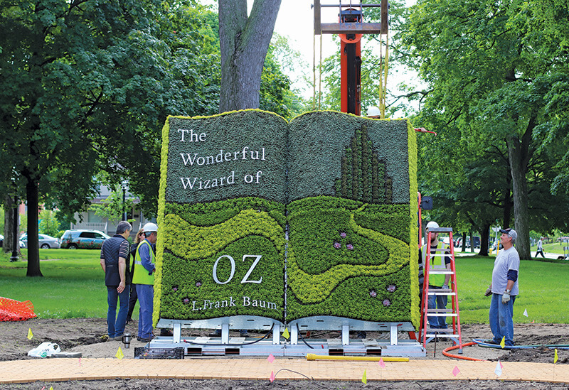 Holland debuts new Wizard of Oz exhibit