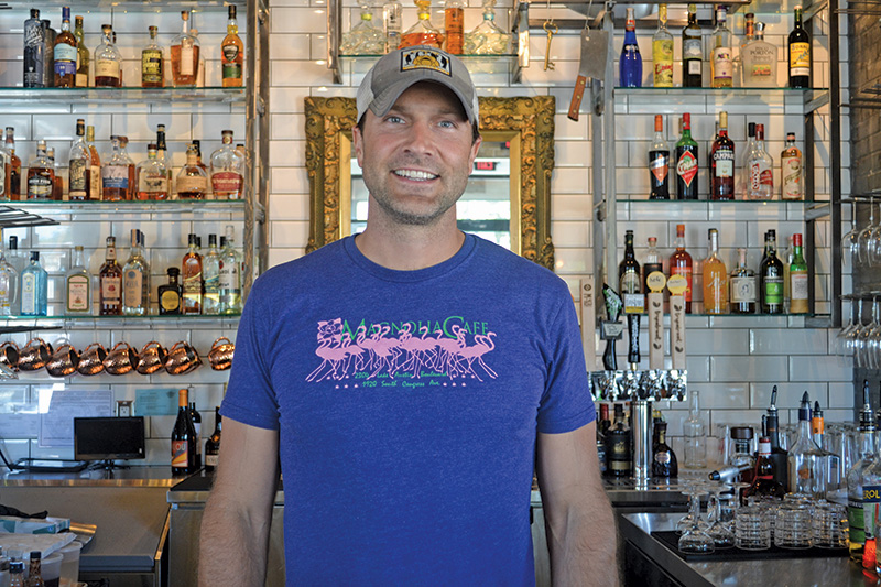 Paul Pugsley, owner of fuel bar + refuge