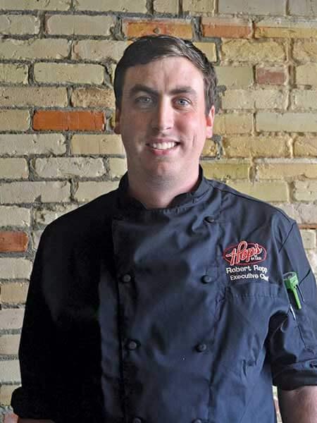 Bob Repp, executive chef at Hops at 84 East