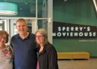 Tammy Bowser, Steve and Terry Brummel at Sperry's Moviehouse