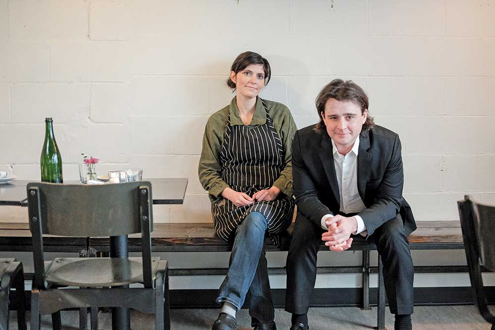 Lindsay and Alec Payleitner, owners of GROW