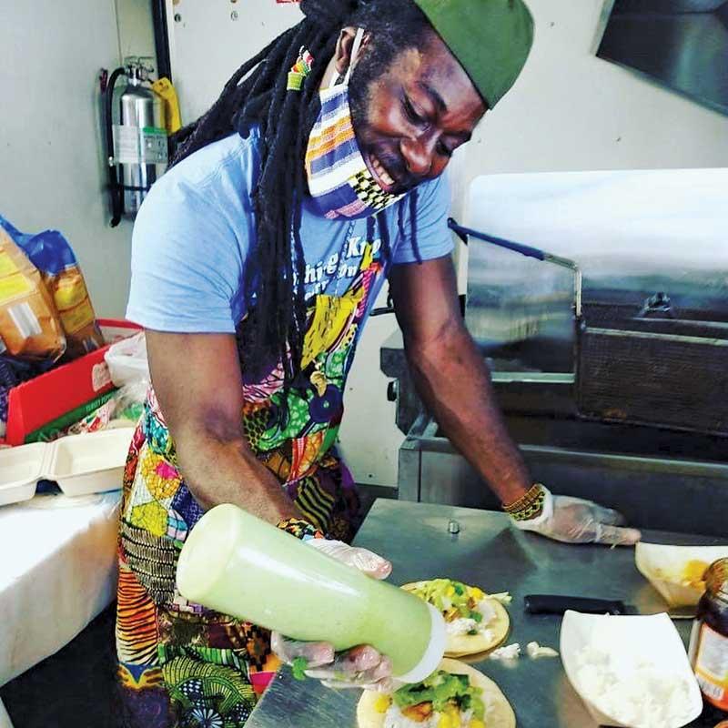 Abeshi Ghanaian Cuisine, Muskegon