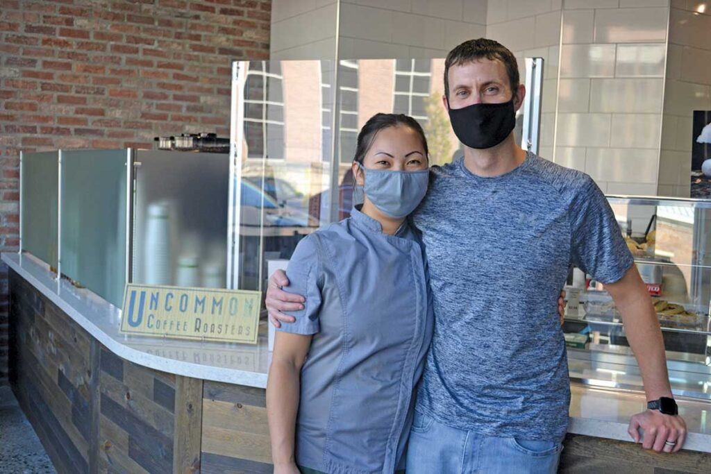 Kylie and Kevin Knight, founders and owners of Market Zero