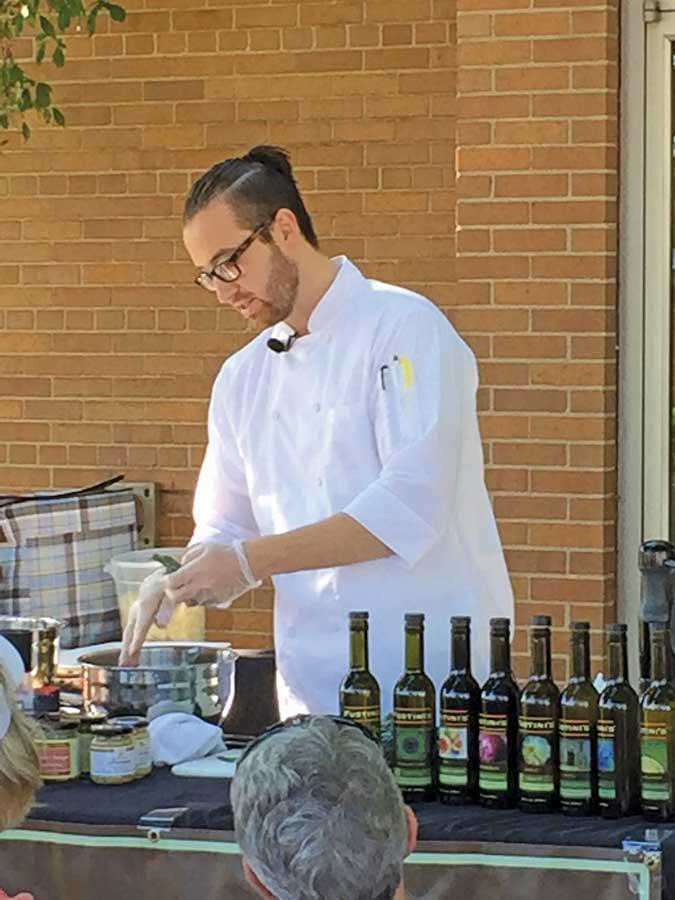 John Vander Jagt, Fustini's guest chef