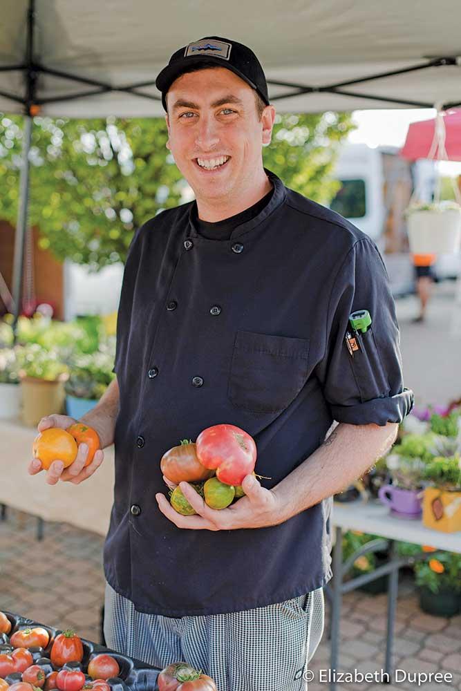 Bob Repp, executive chef at Hops at 84 East, Holland