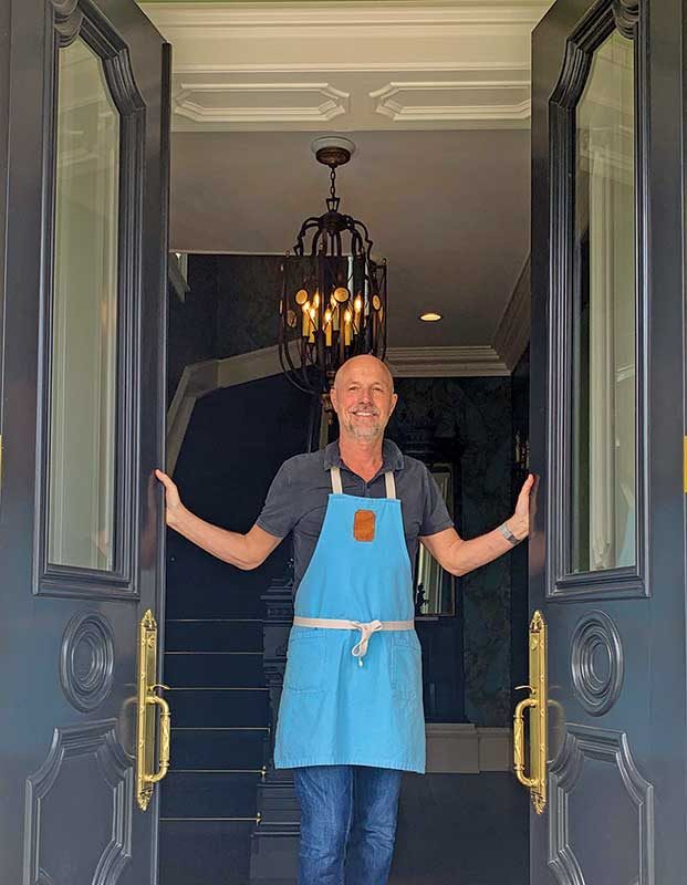 Patrick Roggenbau, Chef/Owner/Host, The Lilley Mansion, Spring Lake