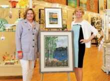 Ann Loveless (left) and Carrie Rodgers-O'Neal, Lake Effect Gallery, Holland