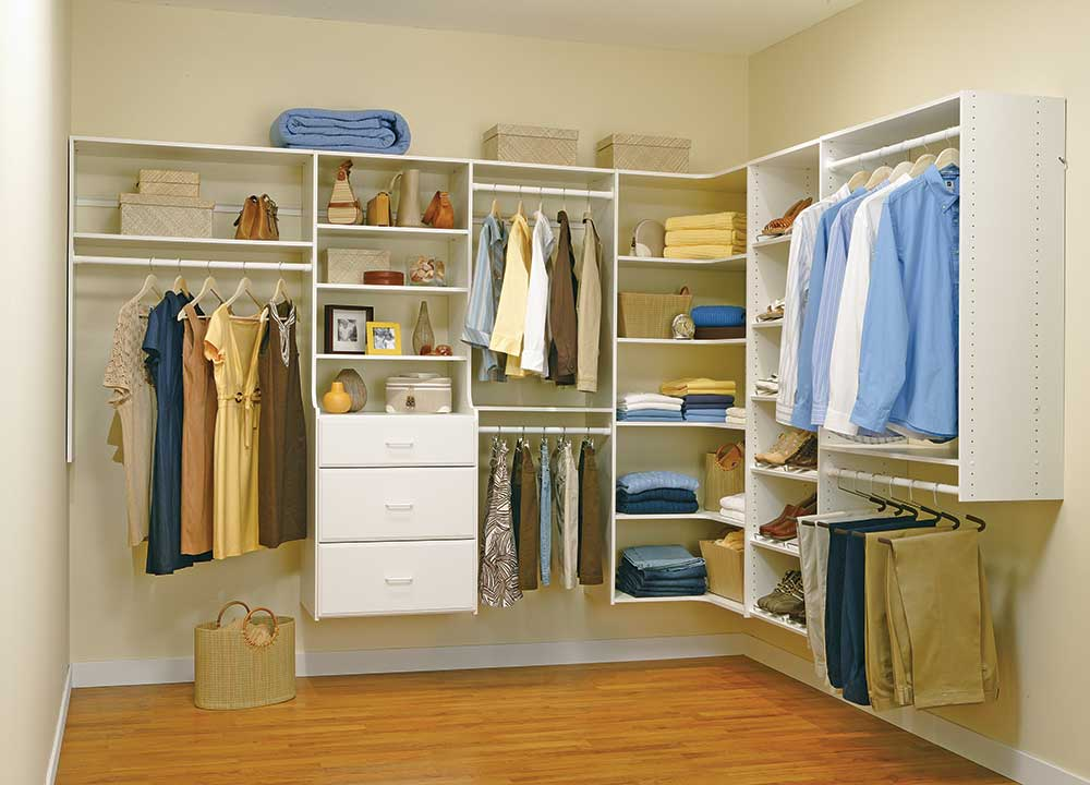 Easy Track closet systems