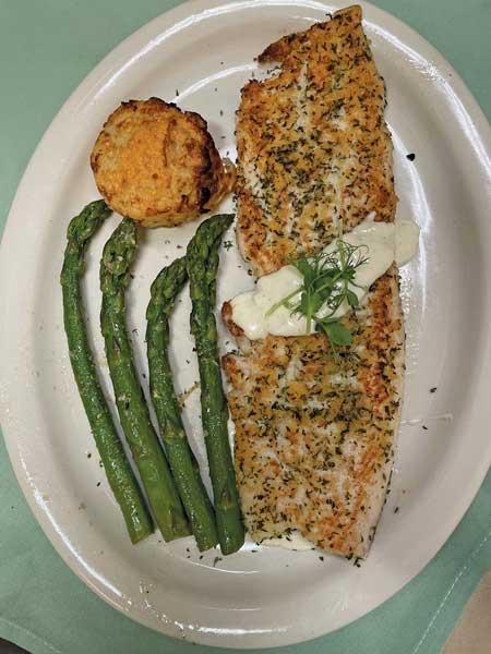 Parmesan Crusted Whitefish