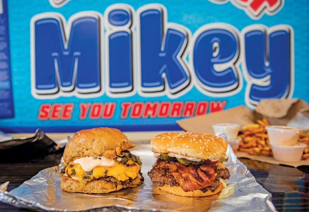 Hamburger Mikey